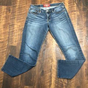 Lucky Brand Sweet N Straight Jeans Size 4/27